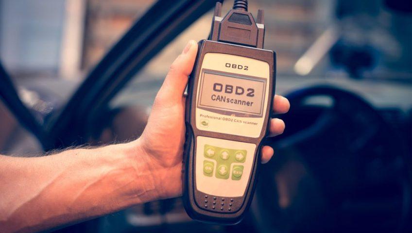 OBD Scanner to Reset WCU