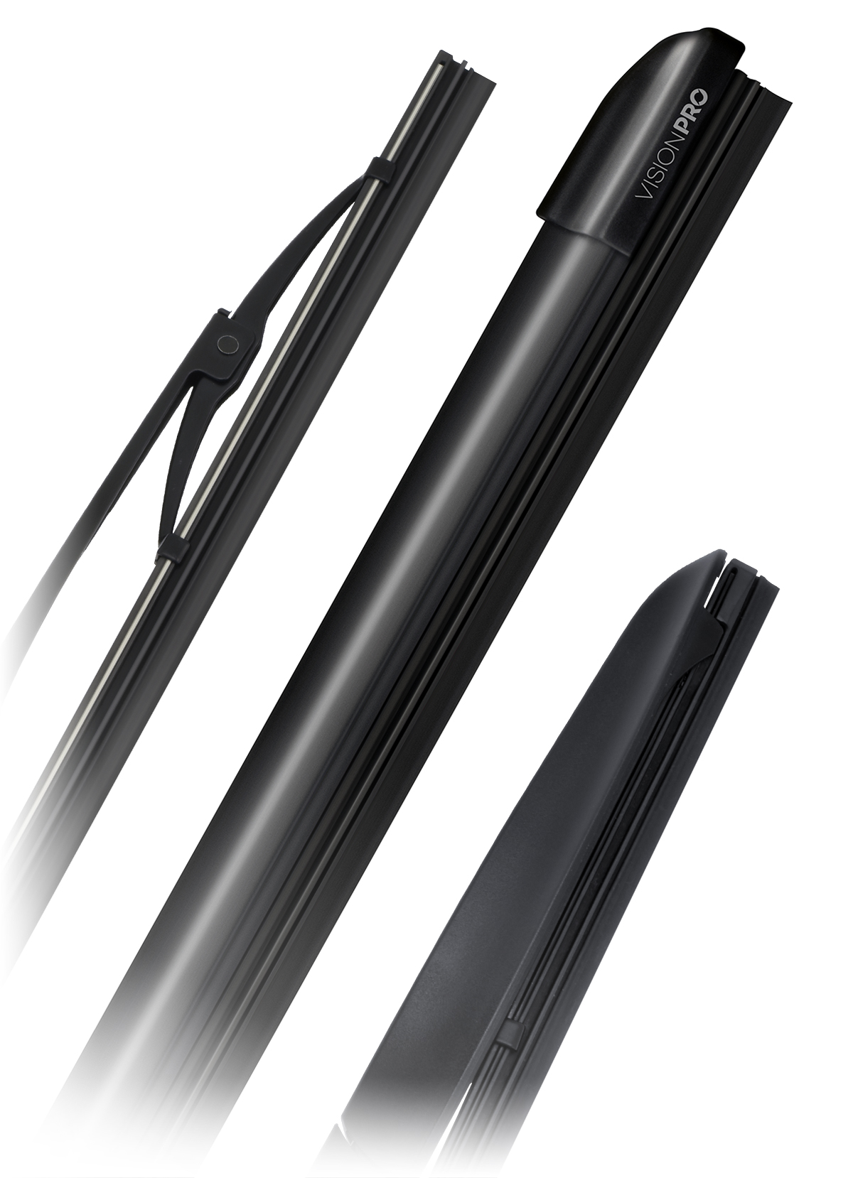 Wiper Blades - Flat, conventional and hybrid