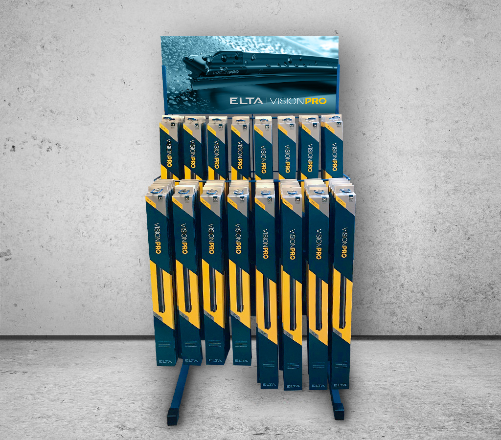 ELBS11 Floor Standing Wiper Blade Display