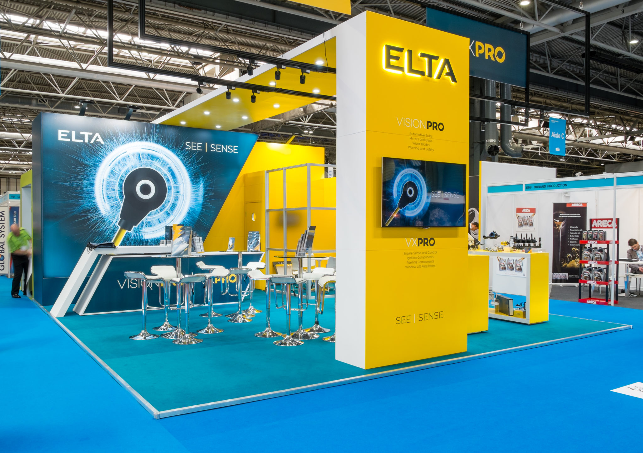 ELTA Stand at Automechanika Birmingham