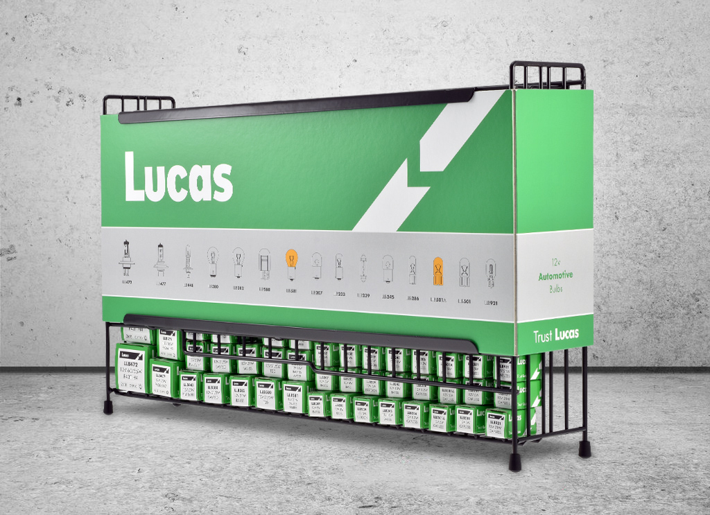 Lucas Counter Top Bulb Stand -ZMB308