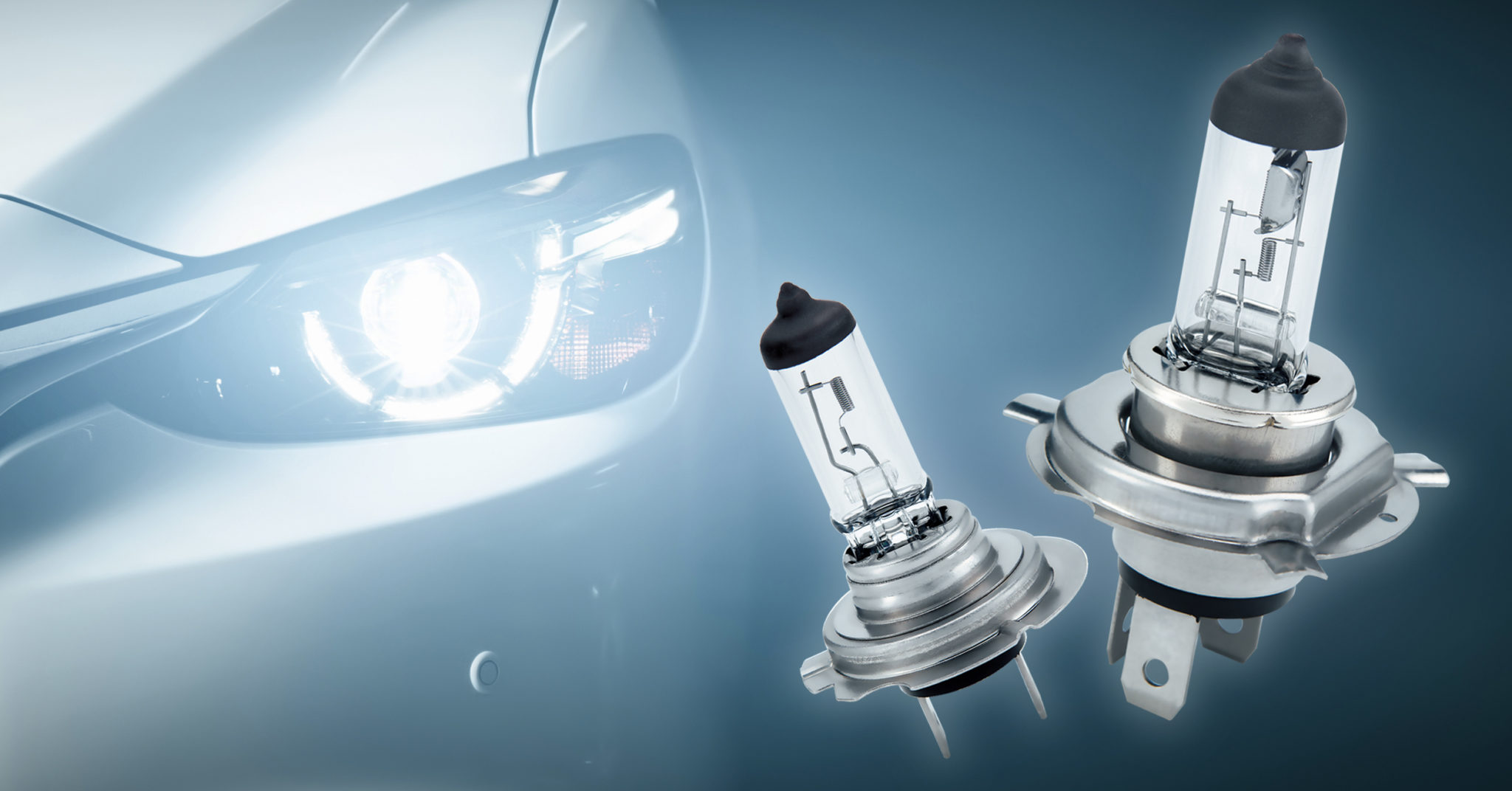 H18 and H19 Halogen Bulbs