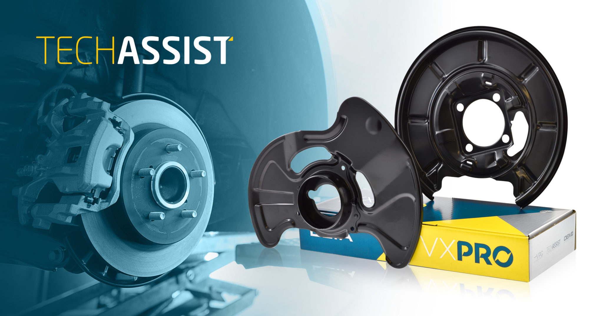 ELTA TECHASSIST BRAKE DISC SHIELDS