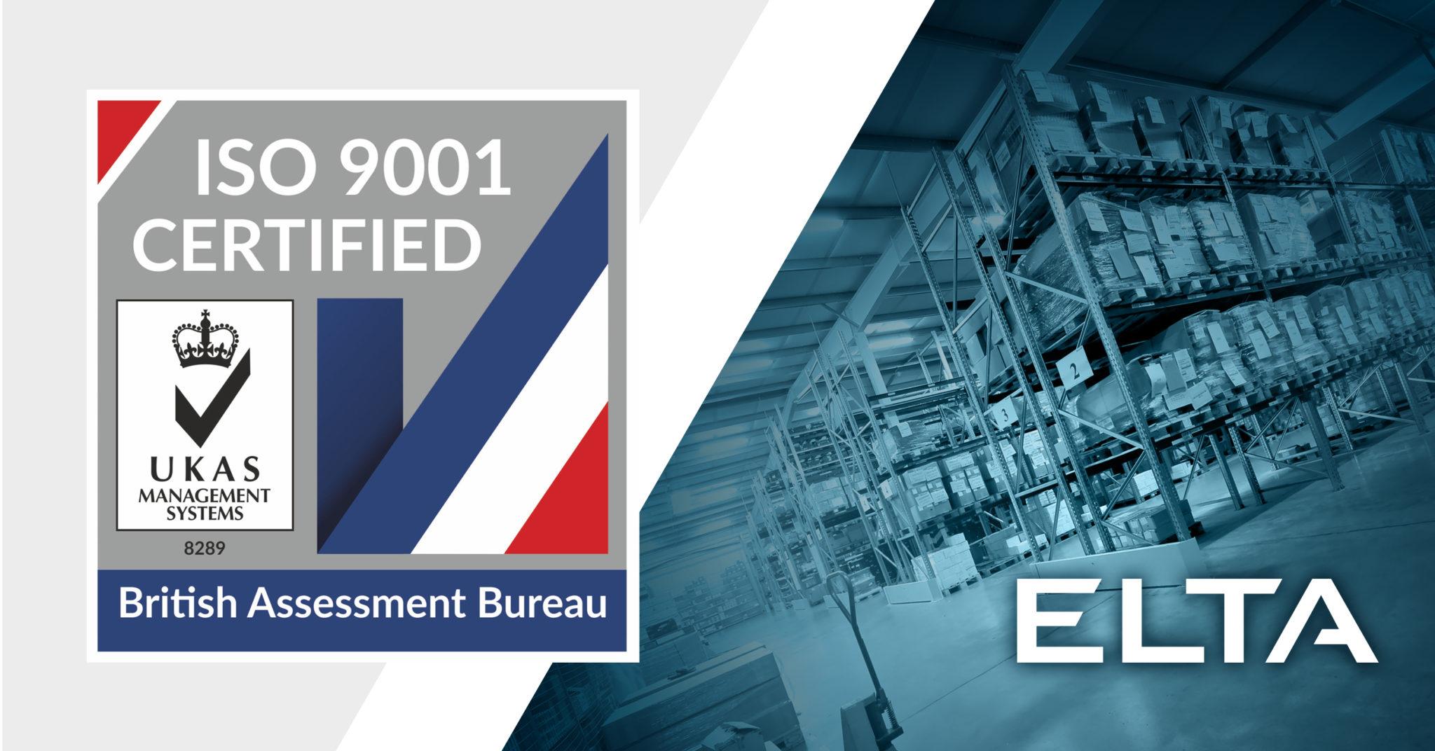 ELTA ISO Certified