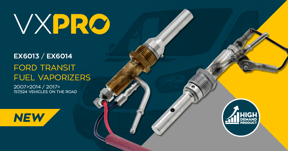 Ford Transit Fuel Vaporizers
