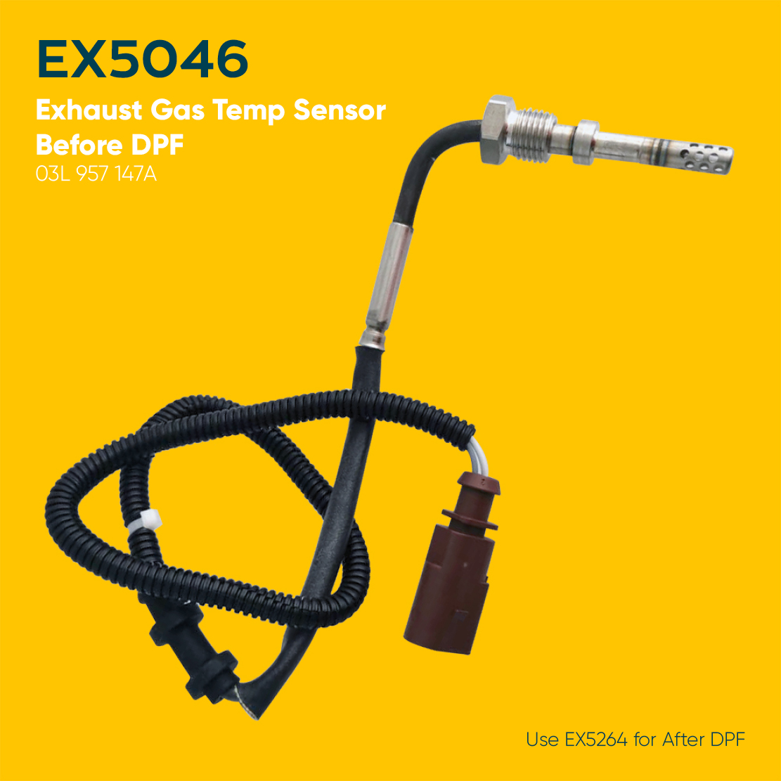 Audi A1 Exhaust Gas Temperature Sensor