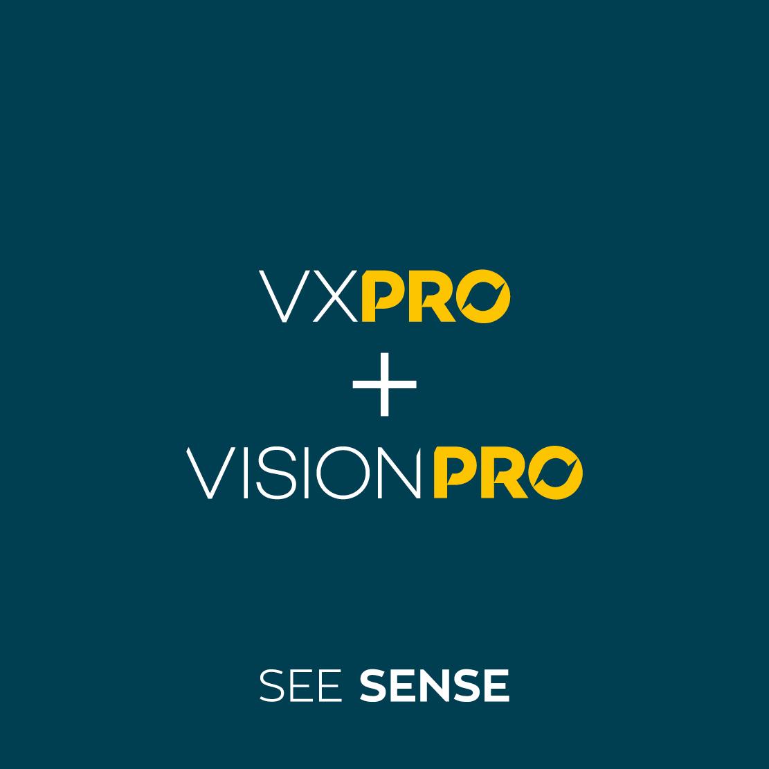 VXPRO and VisionPRO See Sense