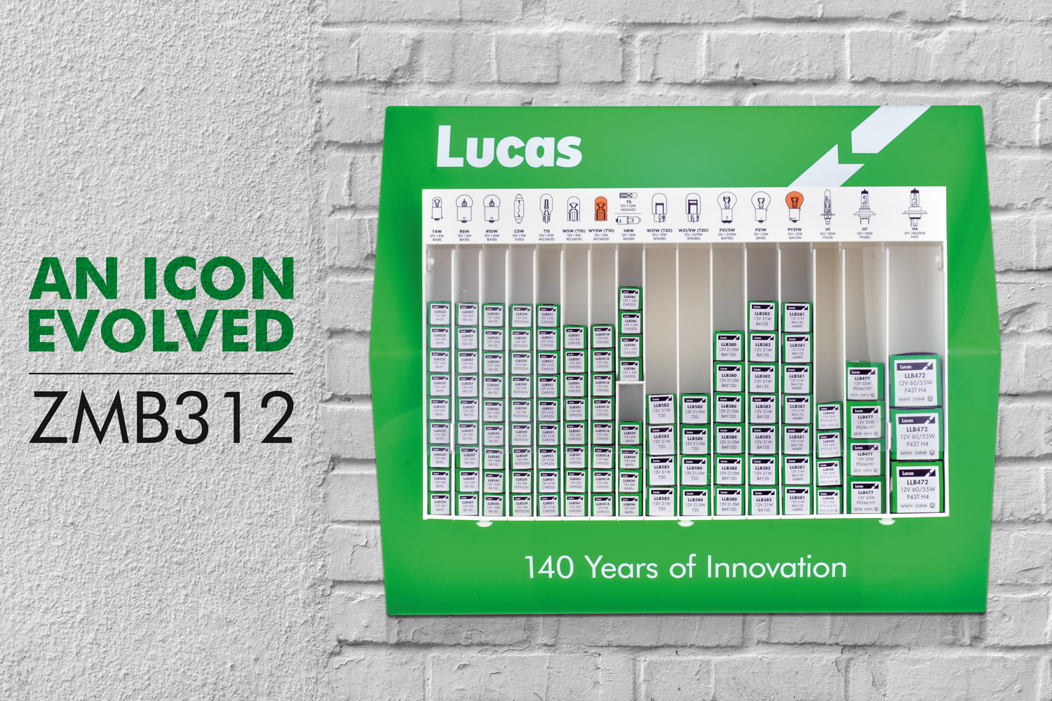 Lucas Bulb Wall Stand ZMB312